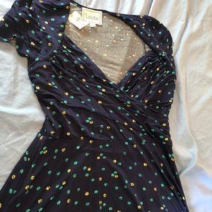 NWT Leota faux wrap dress